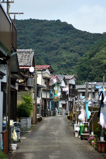 The charming fisherman town of Kure