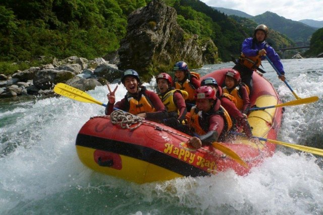 Two-day Rafting/Canyoning on Yoshino River – Intermediate