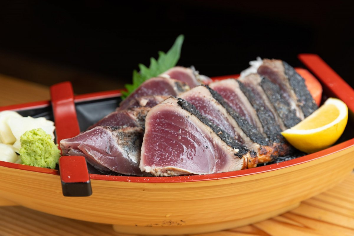 Soul Food of Kochi: Katsuo no Tataki (Seared Bonito)