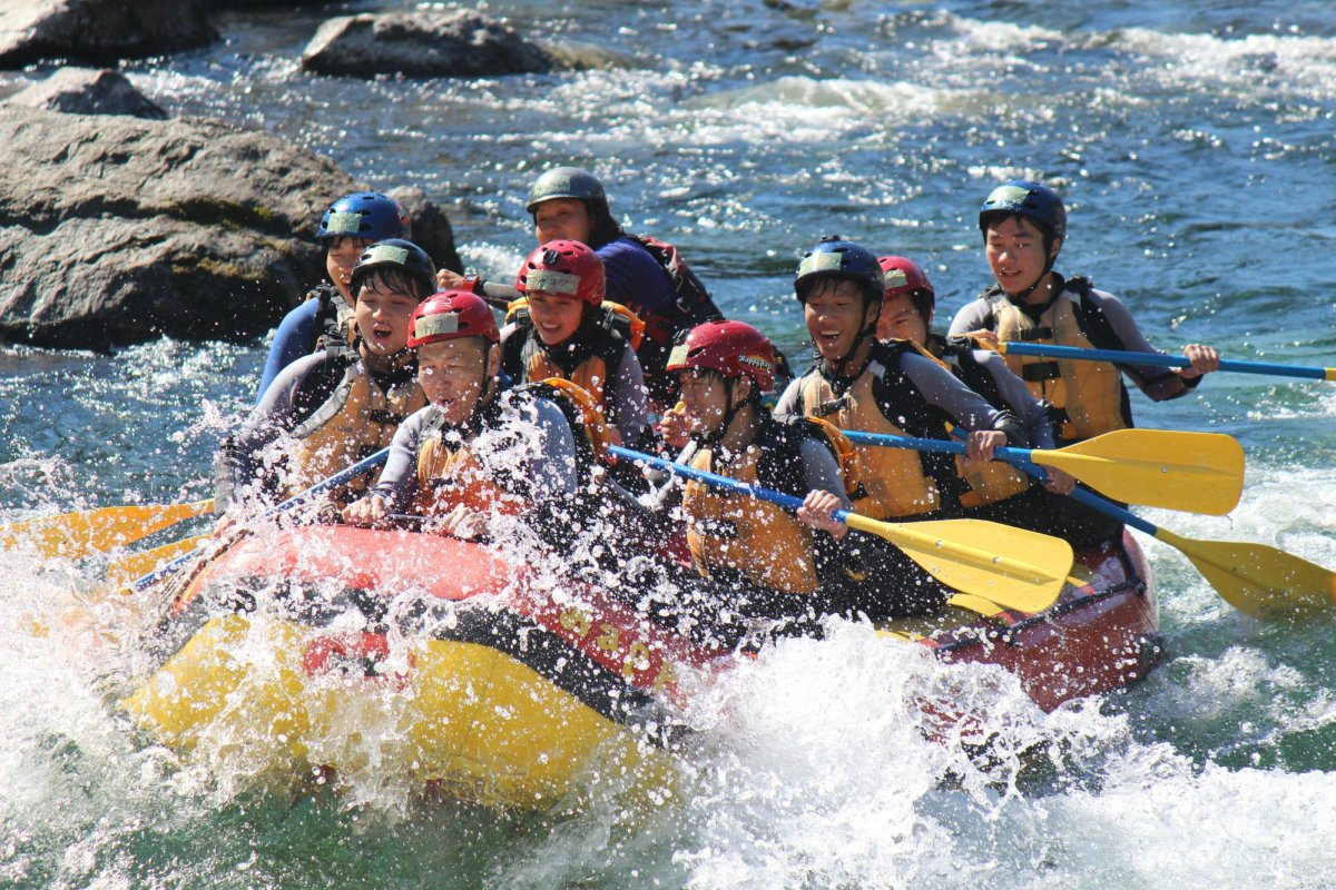 Rafting on the Yoshino River - Japan's Wildest River