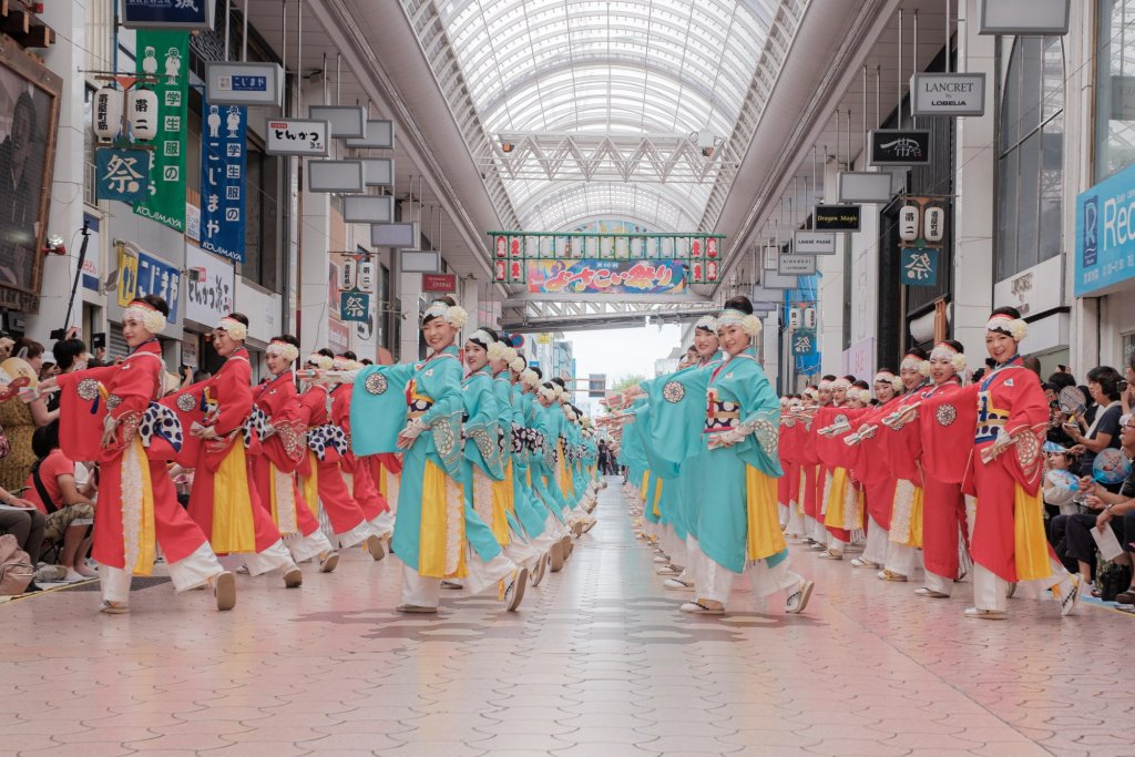 Yosakoi Festival! Feel free to join in and dance!|Highlights|VISIT KOCHI JAPAN